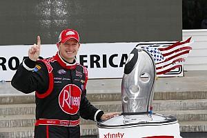 NASCAR XFINITY Reporte de la carrera McDowell logra su primera victoria en NASCAR