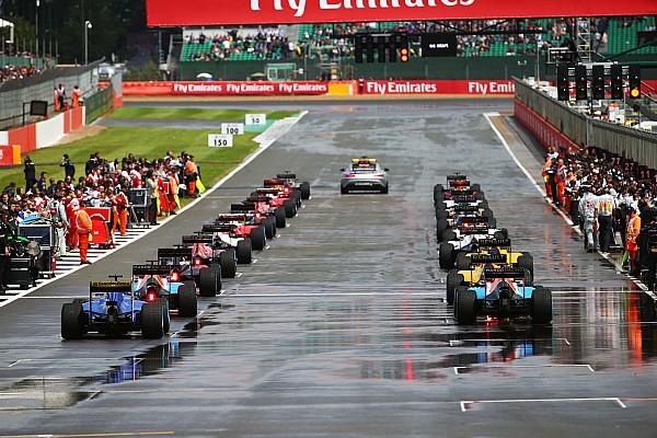 Формула 1 Важливі новини В 2017 році у Формулі 1 в дощ стартуватимуть з місця
