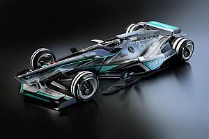 Формула 1 Самое интересное Галерея: как может выглядеть автомобиль Mercedes F1 2030 года?