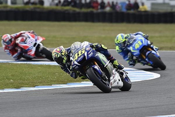 MotoGP Réactions Rossi -