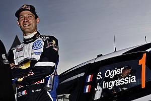 WRC Reactions Ogier: