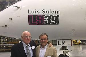 Moto2 Noticias de última hora Air Europa pone el nombre de Luis Salom a uno de sus aviones