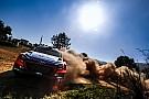 WRC Dani Sordo sufre con los neumáticos en Australia