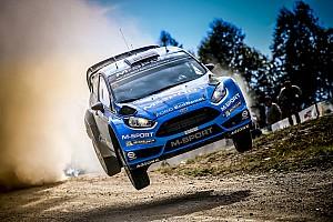 WRC Actualités Østberg rend hommage à la Fiesta RS WRC