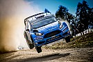 WRC Østberg rend hommage à la Fiesta RS WRC