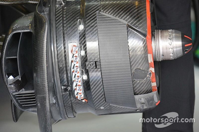Teknik Güncelleme: McLaren ön fren kanalı