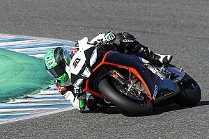 WSBK Réactions L'enthousiasme règne chez Aprilia après le test de Jerez