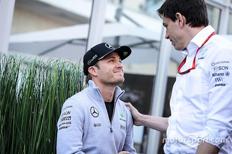 【F1】ロズベルグの電撃引退……。ウルフ「予想していなかった出来事だ」