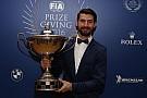 WTCC López recibió el trofeo de campeón del WTCC en la Gala de la FIA