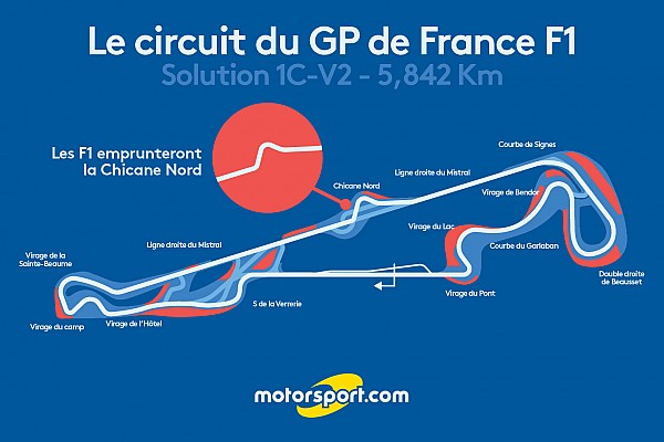 Formula 1 Ultime notizie Ecco la versione ufficiale del tracciato che ospiterà il GP di Francia!