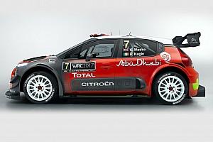 WRC Son dakika Citroen 2017 C3 WRC aracını tanıttı