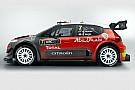 Citroen 2017 C3 WRC aracını tanıttı