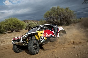 Dakar Réactions Loeb -
