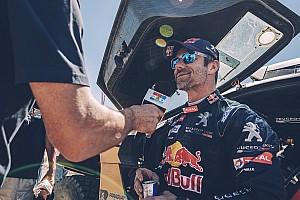 Dakar BRÉKING Loeb megköszönte a fair és kemény csatát Peterhanselnek