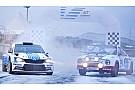 WRC Skoda con decoración especial para recordar victoria de 1977