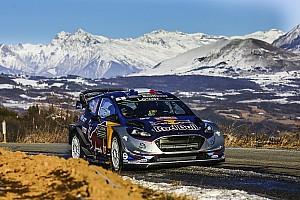WRC Resumen de la etapa Ogier y M-Sport lideran el shakedown de Montecarlo