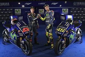 MotoGP Новость Yamaha представила новый мотоцикл и обновленную ливрею