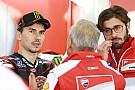 MotoGP Lorenzo visitó la fábrica de Ducati el día antes de su presentación