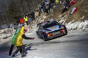 WRC Leg звіт Ралі Монте-Карло: шинна лотерея