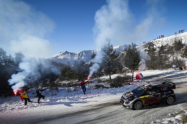 WRC Resumen de la etapa Sébastien Ogier se pone líder en Montecarlo