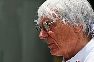 Ecclestone annonce son départ du F1 Group