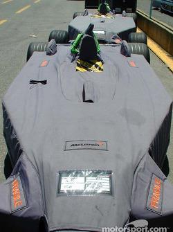 McLaren wrapped