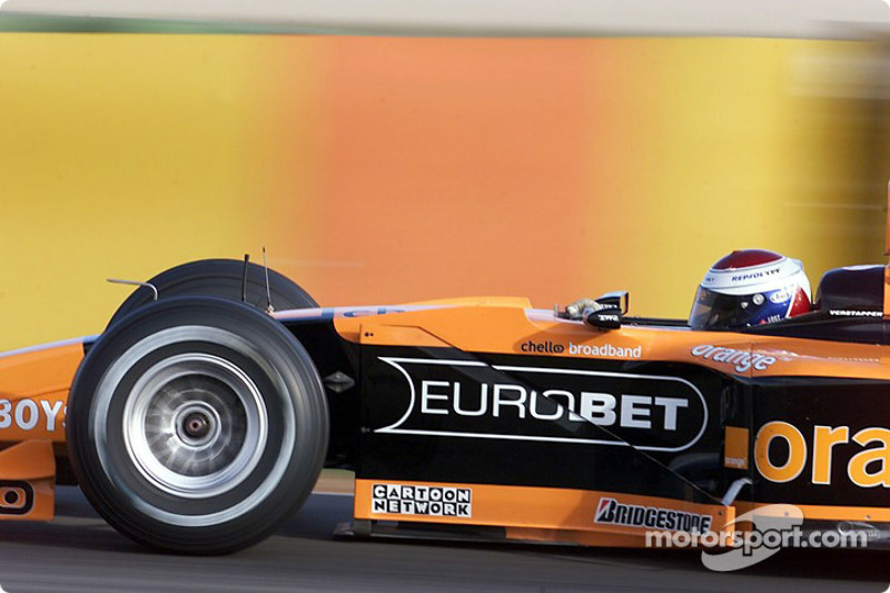 Valencia test: Jos Verstappen