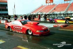 Robert Patrick's Pro Stock Mustang