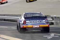 Bobby Hamilton Jr. in pitlane