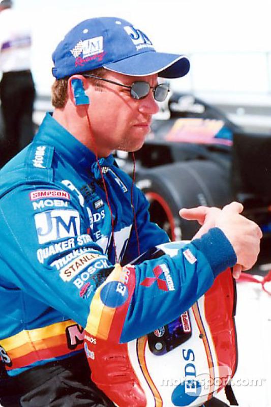 Race winner Greg Ray