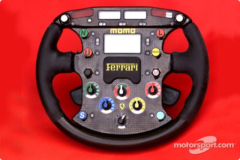 Michael Schumacher steering wheel