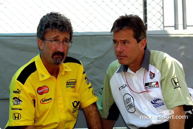 Eddie Jordan and Craig Pollock