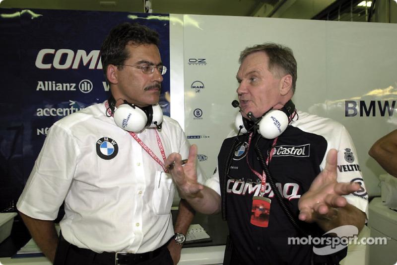 Mario Thiessen and Patrick Head