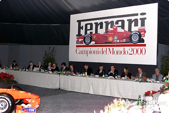 Dinner with the Italian Press