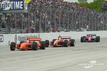 Jimmy Vasser, Bruno Junqueira and Tony Kanaan