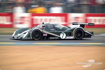 Bentley braking into Dunlop