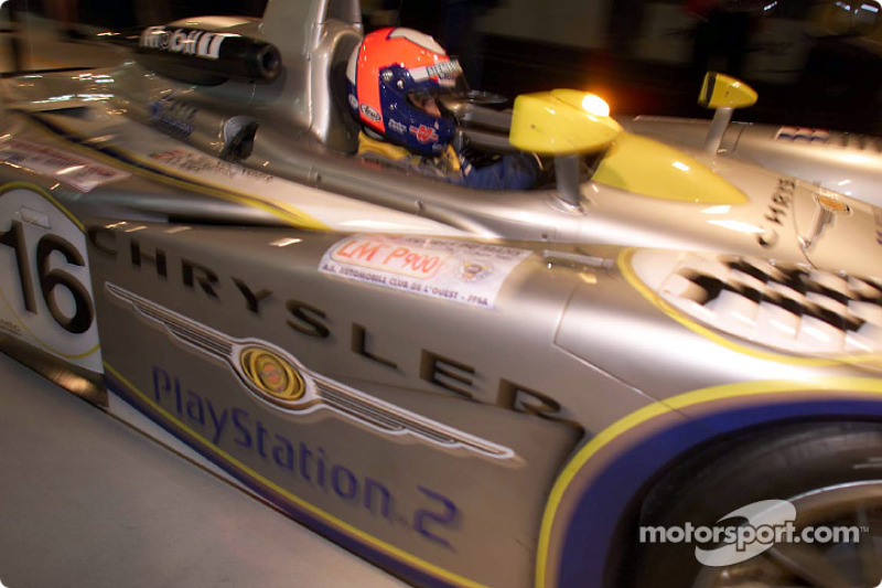 Pedro Lamy, Team Playstation Chrysler LMP
