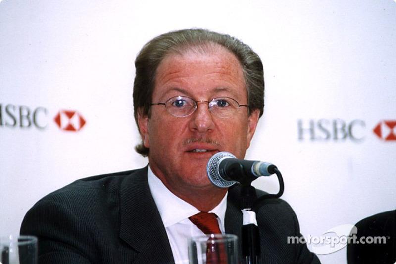 Jaguar Racing and HSBC renew sponsorship: Dr Wolfgang Reitzle