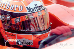 Michael Schumacher before the race