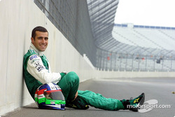 Dario Franchitti visting Rockingham Motor Speedway and meeting the media