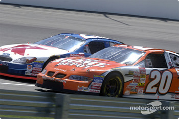 Tony Stewart and Jimmy Spencer