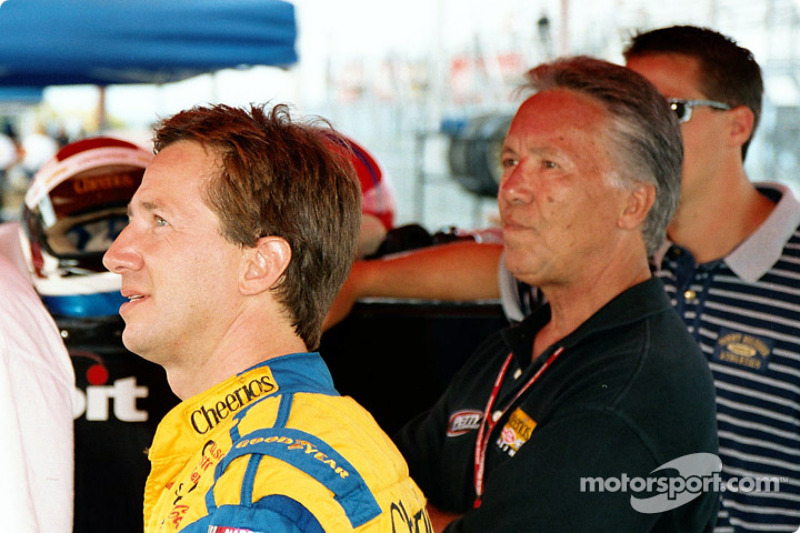 Andretti's look on