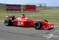 Ferrari August test sessions
