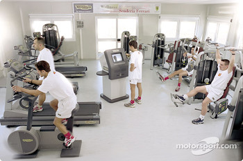 The Wellness Project for the Scuderia Ferrari