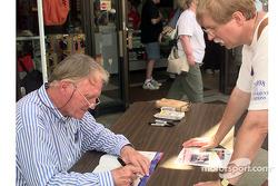 Dan Gurney autograph session