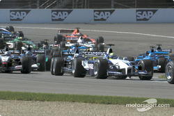First corner: Ralf Schumacher
