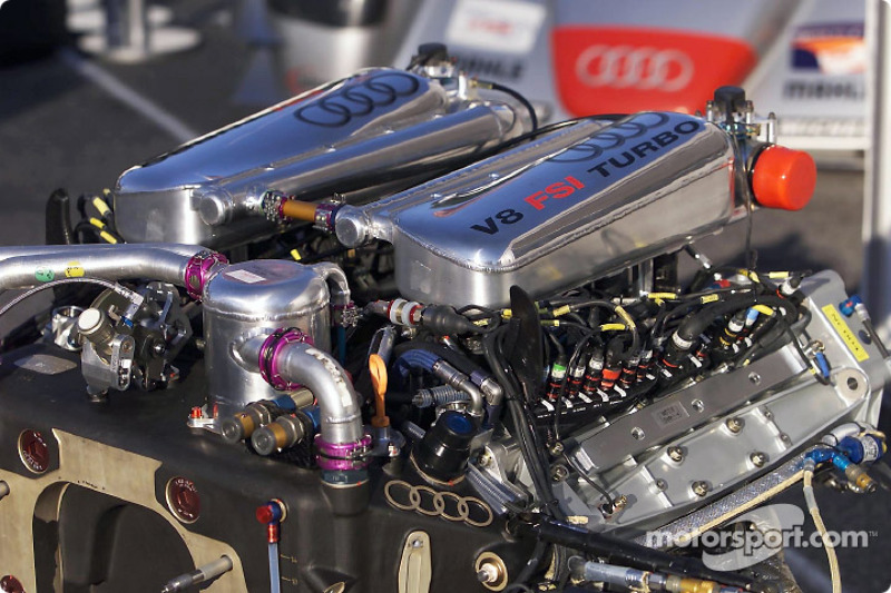 The FSI engine of the Infineon Audi R8