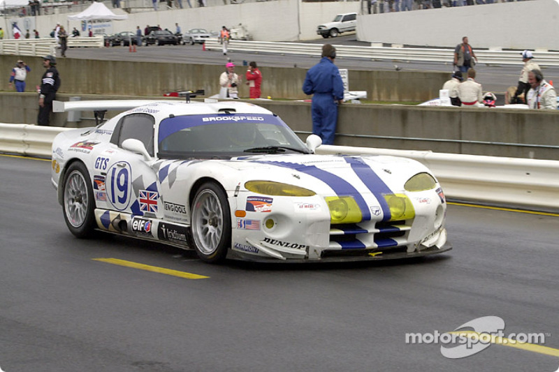 Brookspeed Viper GTS-R on the grid