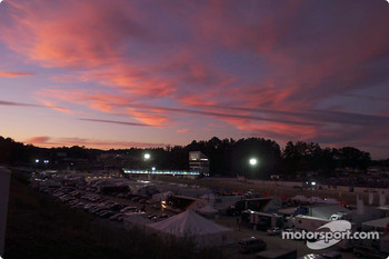 Road Atlanta at dusk