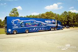 Sigma Autosports transporter